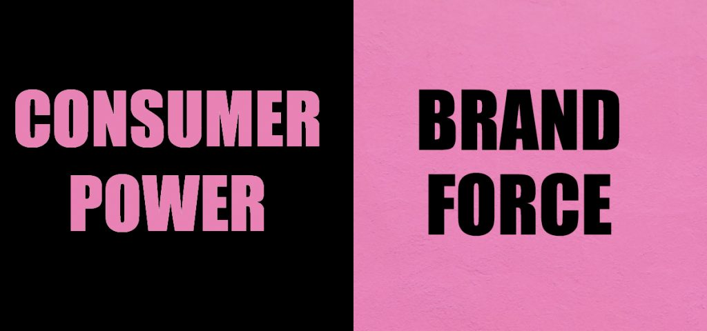 Consumer Power >< Brand Force research by Jenni Brisk